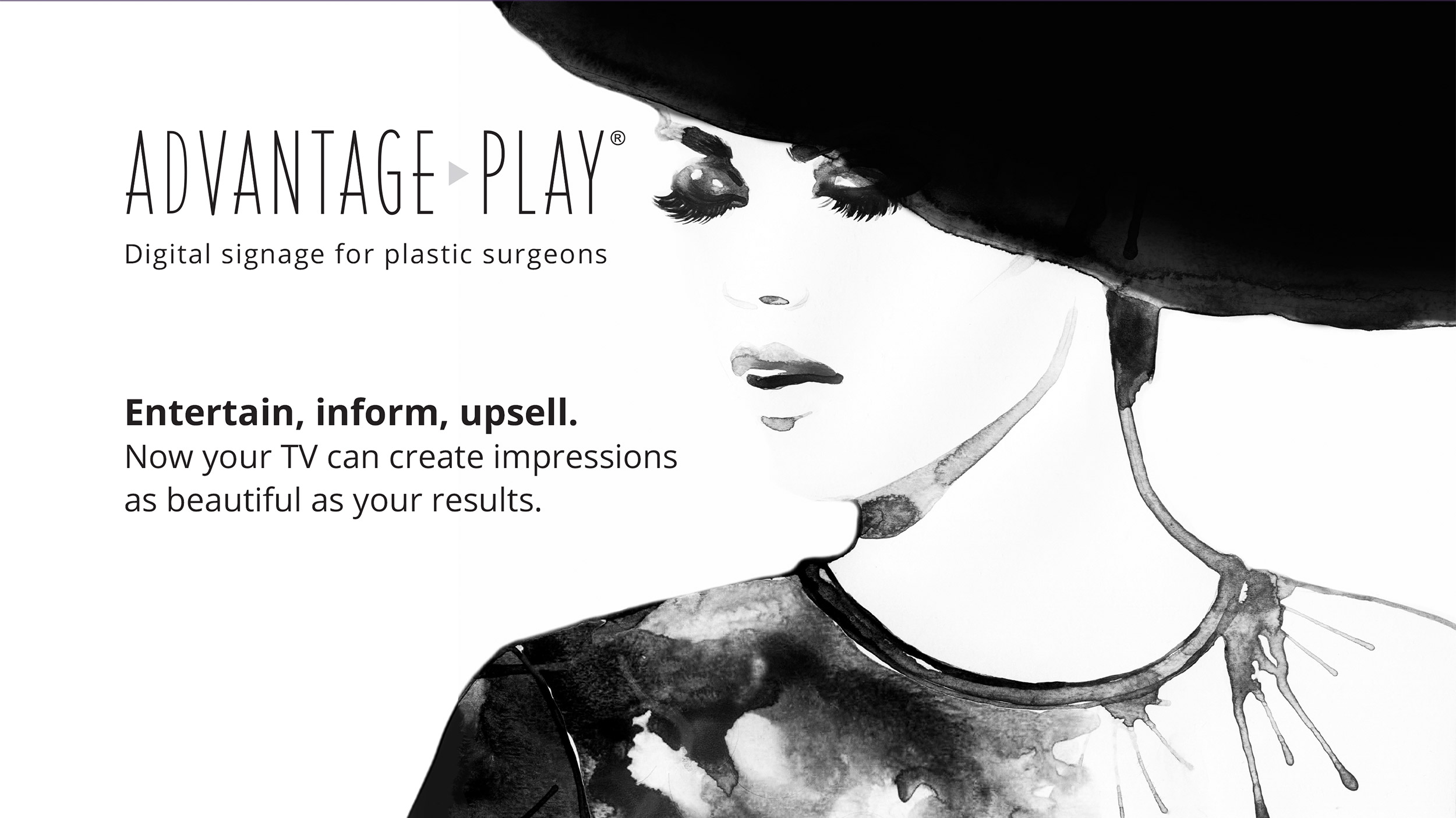 Digital Signage Plastic Surgery Marketing